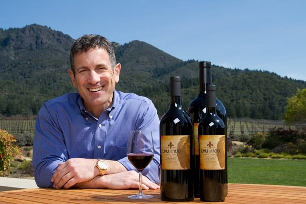 Chris Silva relied on his 100-year-old vines to produce the zinfandel he made for LMU's centennial.